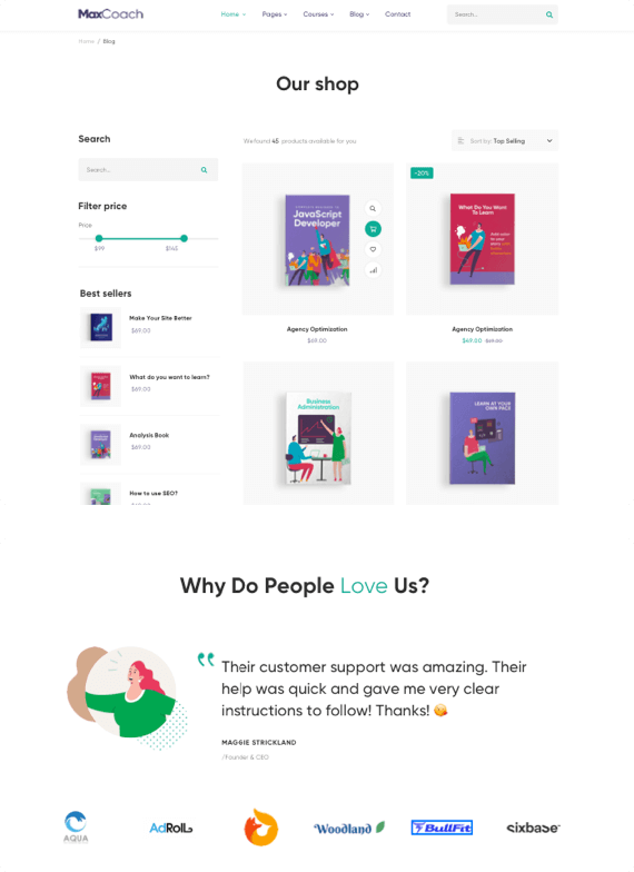 landing-showcase-predefined-pages-02